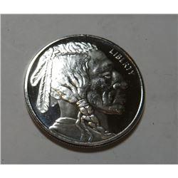 1 oz. Silver Buffalo Design Round .999
