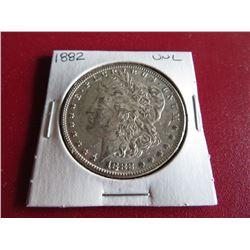 1882 P BU Grade Morgan Dollar