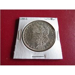 1882 P UNC Grade Morgan Silver Dollar