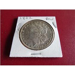 1882 BU Grade Morgan Silver Dollar