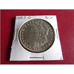 1883 O BU Grade Morgan Dollar
