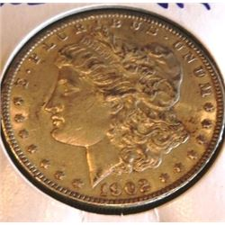 1902 P VF Plus Morgan Dollar