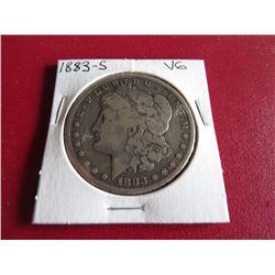 1883 s VG Grade Morgan Dollar