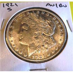 1921  AU/BU Grade Morgan Silver Dollar
