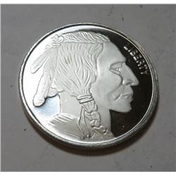 1 oz Silver Buffalo Design Round -. 999 pure