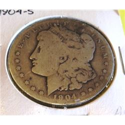 1904 S Better Date Morgan Silver Dollar