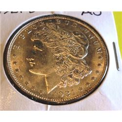 1921 D AU Grade Morgan Dollar