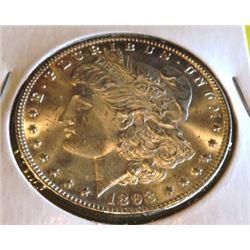 1898 P BU Grade Morgan Silver Dollar