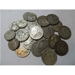 $10 face Value Mixed 90% Silver Coins