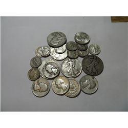 $5 Face value Mixed 90% Silver