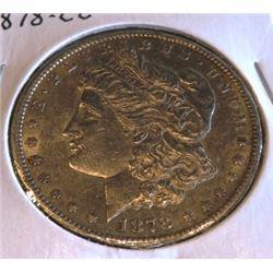 1878 CC Key Date Morgan Silver Dollar