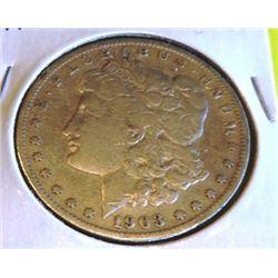 1903 S Better Date Morgan Silver Dollar