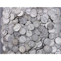 (200) 90% Silver Washington Quarters - Mixed Dates