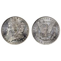 1884 O CH BU Morgan Silver Dollar