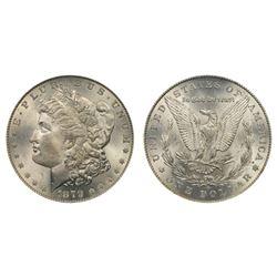 1879 O CH BU Morgan Silver Dollar
