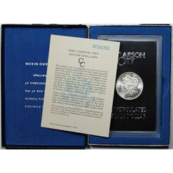 1882 CC GSA with Box and Certificate