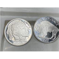 1 oz Buffalo Design Silver Round (1)