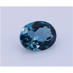 1 ct. Natural Blue Topaz Gemstone