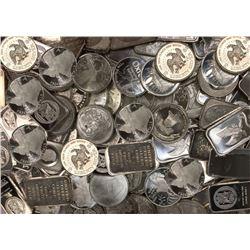 .999 Silver Bullion Grab Bag Lot - 10 oz Total