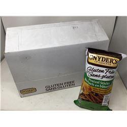 Case of Snyders Gluten Free Pretzel Sticks