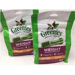 Greenies Dental Treats Weight Management (15-25lbs Dogs) 2 x 20