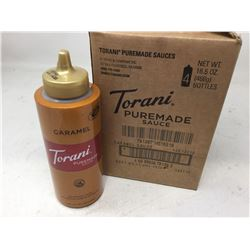 Torani Caramel Puremade Sauce (4 x 468g)