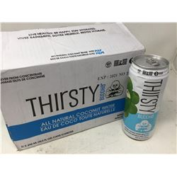 Thirsty Buddha All Natural Coconut Water (12 x 490ml)