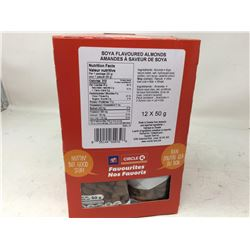 Circle K Soya Flavoured Almonds (12 x 50g)
