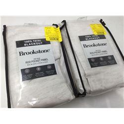 BrookstoneRod Pocket Panels (50in x 84in)