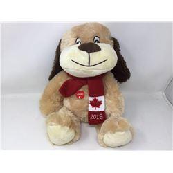 Plush Candian Dog