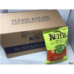 Kettle Brand Chili Lime Potato Chips (12 x 170g)
