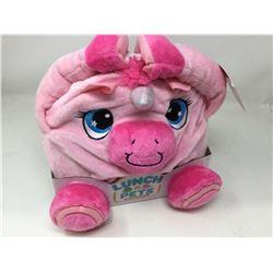 Lunch Pets- Plush Pink Unicorn