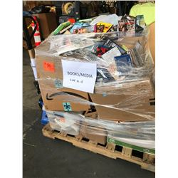 Contents of Pallet: Books and Media