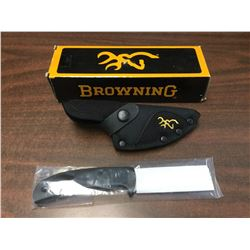 NEW Browning Escalade drop point fixed blade Hunting knife