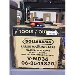 Case of 48 DuramaxLarge Masking Tape Rolls