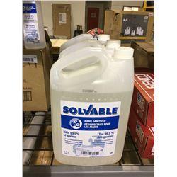 Solvable Hand Sanitizer (3.78L)