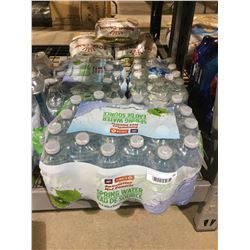 Case of Natural Spring Water Lot of 3