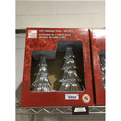 Home Accents Holiday LED Tabletop Trees