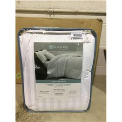 The Seasons Collection King Size White Goose Down Comforter