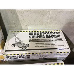 Rust-Oleum Striping Machine