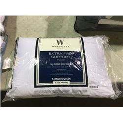 WamsuttaStandard Size Extra Firm Support Pillow