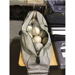 Duffle Bag of Baseballs