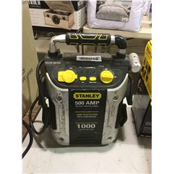 Stanley 500 AMP Jump Start System w/ Compressor -RETURN, SOLD AS IS