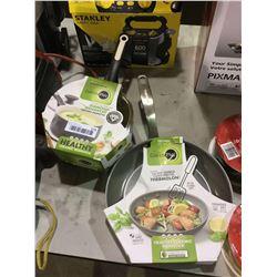 Green Pan Ceramic Nonstick 2-Piece Pot and Pan Set