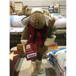 """Home Accents Holiday 24"""" Moose"""