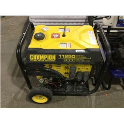 Champion 11250 Watt Gen Set -RETURN, SOLD AS IS. TESTED AND STARTS UP FINE