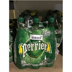 Perrier Carbonated Natural Spring Water (6 x 1L)
