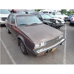 1983 Cadillac Cimarron