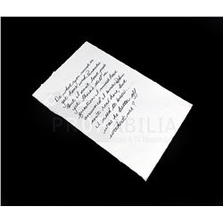 Once Upon a Time - Regina's Note Prop (1357)