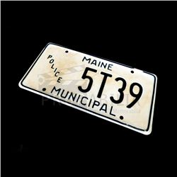 Once Upon a Time - Sheriff's License Plate Prop (7205)